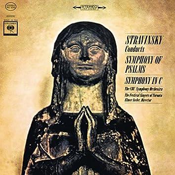 Stravinsky: Symphony of Psalms & Symphony in C Major
