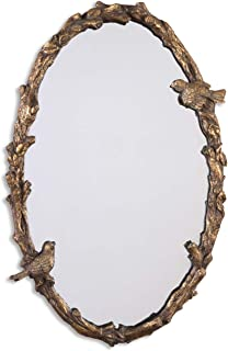 Uttermost Paza Oval Vine Gold Mirror 13575-P