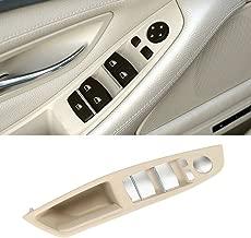 Jaronx Window Switch Armrest Panel, for BMW 5 Series Trim Grab Cover Armrest (Driver Side) Front Left Door Bracket (Fits:520 523 525 528 530 535 2010-2016) (Off-White/LCCX Color)