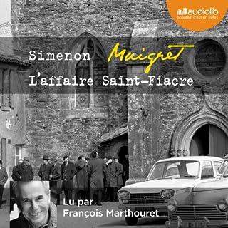 Couverture de L'affaire Saint-Fiacre
