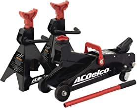AC Delco 2-Ton Floor Jack and Jack Stands