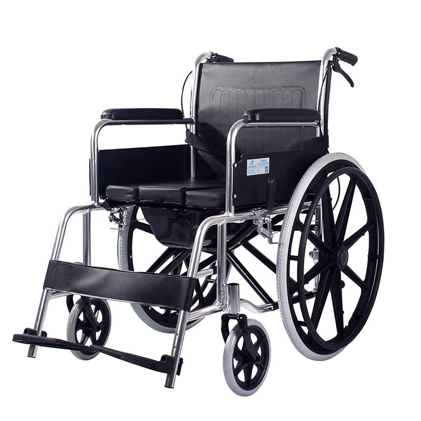 喉頭視線三十TLMY 車椅子旅行チェア高齢者障害者アルミニウム手動席車椅子軽量輸送折りたたみポータブル 歩行補助器具