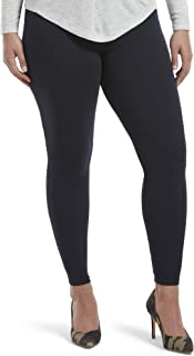 Women's Wide Waistband Blackout Cotton Leggings, Assorted