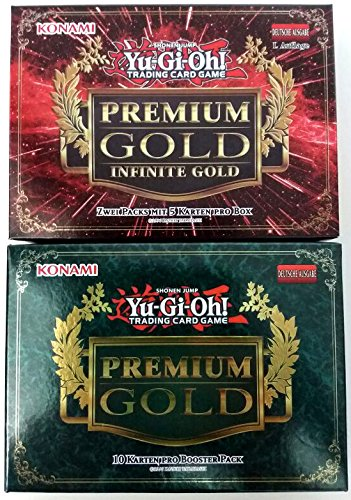 Yu-Gi-Oh! Premium Gold 1 und Premium Gold 3: Infinite Set in deutsch