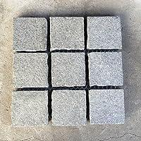 石畳 ピンコロかんたんマット 約300×300×20(mm) 1枚 薄グレー