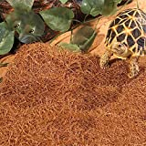 JRTAN&Pet Tortuga y Reptiles Sustrato Alfombra Caja de Tortuga y reptileses con Esterilla de Tortuga, 80x40cm