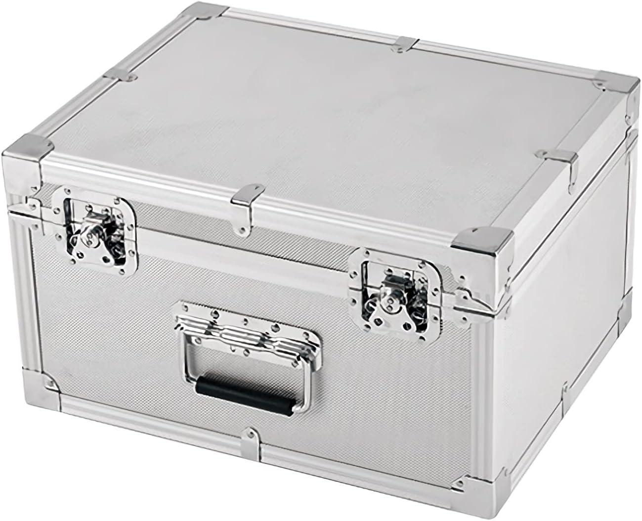 DAGCOT Aluminum Hard Tool Box Classic Briefcase Portable Storage Over item handling ☆ Toolbox