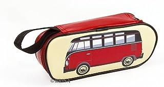 BRISA VW Collection - Volkswagen Bus T1 Camper Van Kombi Pencil Case, Pencil Pouch & Cosmetic Case with Vintage/Retro Desi...
