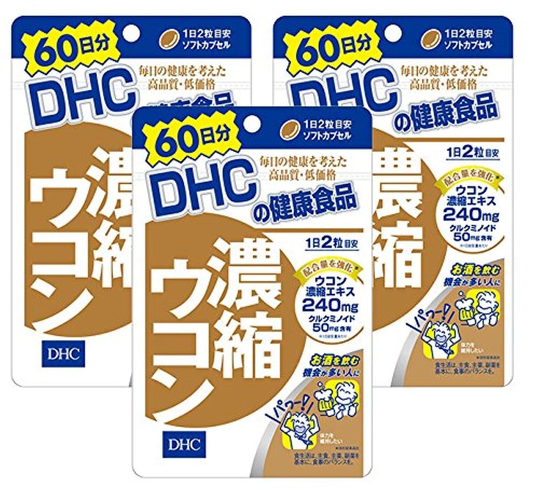 ぶどう受粉者超音速【セット品】DHC 濃縮ウコン 60日 120粒 3袋セット