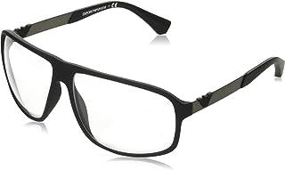 Emporio Armani EA 4029 Black Rubber/Clear 64/13/130 men Sunglasses