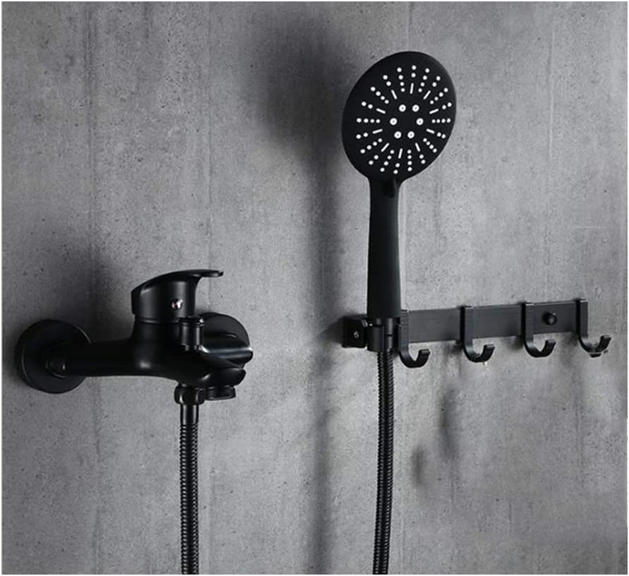 DOTXX Wall Mounted Black Bathtub Faucet and S Set Hot Water Ranking integrated 1st place Cold Ranking TOP11