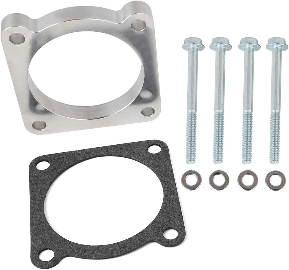 Throttle Body Spacer Kits Fuel Spacers At the price of SALENEW very popular! surprise Aintier Fi