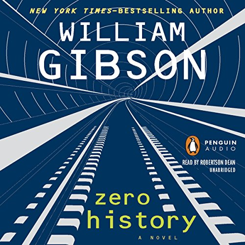 Zero History audiobook cover art
