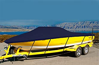 CRV-SBU 7 oz Solution Dyed Polyester Material Custom Exact FIT Boat Cover Cobalt 226 W/EXTD SWPF W/Gas Tank Flap 2005