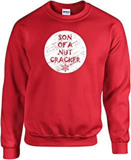 All Things Apparel Son Of a Nutcracker Ugly Sweater Unisex Crew Sweatshirt