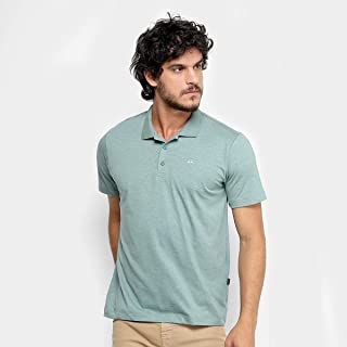 Camisa Polo Quiksilver Heather Masculina