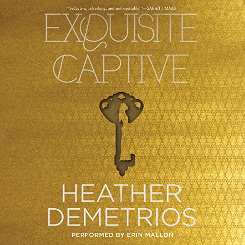 Exquisite Captive audiobook cover art