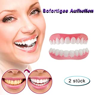 Perfect Cosmetic Teeth Denture Instant Smile Veneers Effective Teeth Whitening Comfort Fake Tooth Cover for Dental Care