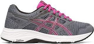 ASICS Women's Gel-Contend 5 Running Shoes, 8.5M, Metropolis/Fuchsia Purple