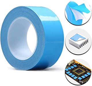 TYLife Thermal Adhesive Tape,25Mx30mmx0.2mm Thermally Double Side Tapes for LED Light,Heat Sink,Computer CPU, GPU Cooler,PC and More, Electrically Insulated