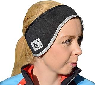 VC Thermo Tech Fleece Lined Ear Warmer Headband - 2 sizes (Black, Adults (58cm))