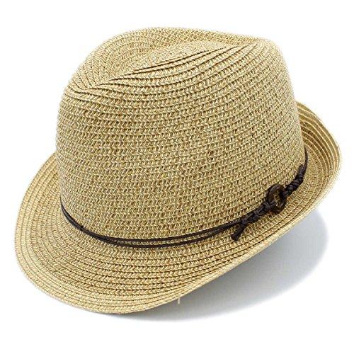 1 3/4' Wide Brim Panama Roll Up Fedora Sun Hat Beach Cap