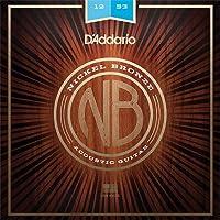 【10セット】D'Addario ダダリオ NB1253 ニッケルブロンズ Light アコースティックギター弦