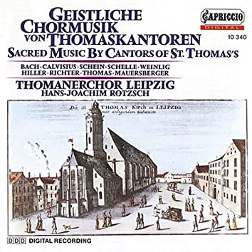 Sacred Music by Cantors of St. Thomas