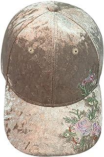 42446b7c Unisex Applique Floral Baseball Cap Snapback Hip Hop Flat Hat