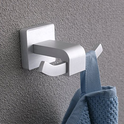 BOEN A2010 Badkamer Enkele Handdoek Bar/plank Wandsteun, SOLID Aluminium