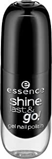 essence Shine Last & Go! Gel Nail Polish 46 Black Is Back