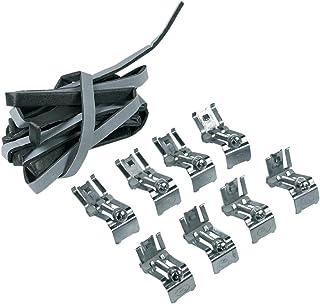 8 x Befestigungsklammern Klammern Spülenhalteklammern Spüleneinsatzklammern Spülenhalterungen mit Dichtung zur Spülenmontage Spülbecken