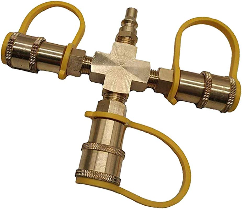 Bonarty Max 40% OFF Hose Tap Y-Connector Irrigation Water Con Splitter Purchase Valve