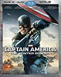 Captain America: The Winter Soldier (2-Disc Blu-ray 3D + Blu-ray + Digital HD) by Walt Disney Studios Home Entertainment by Joe Russo Anthony Russo