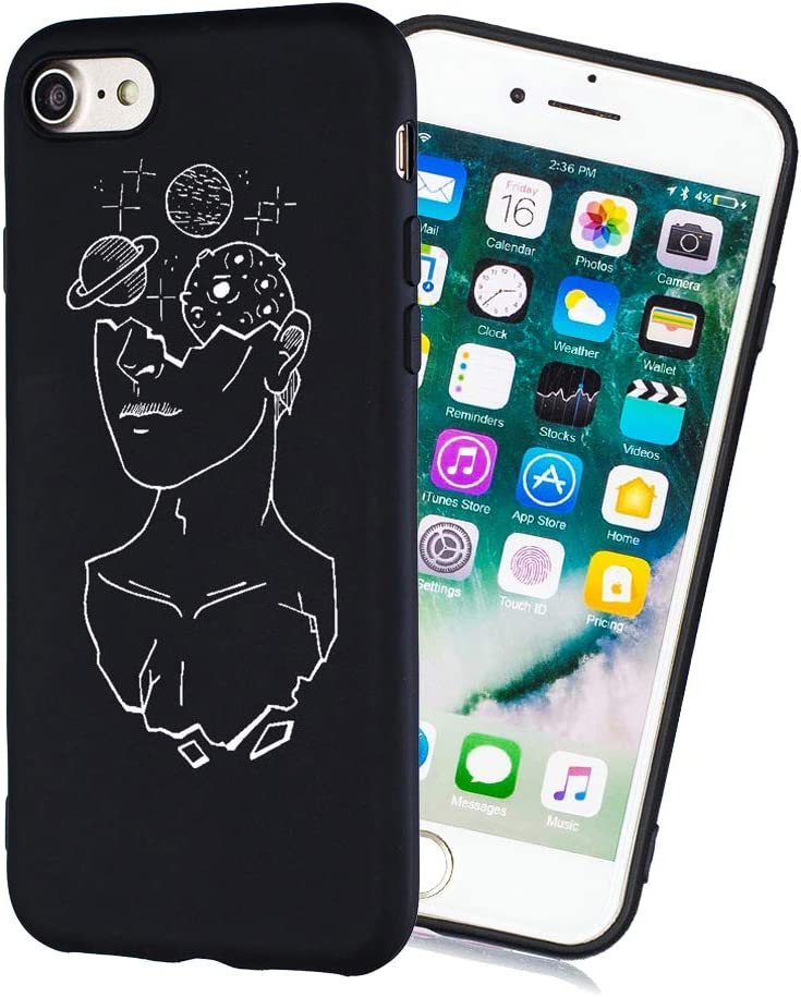 Amocase Limited time cheap sale Black TPU Matte Case with 2 for 6 iPhone Max 66% OFF Plu in Stylus 1
