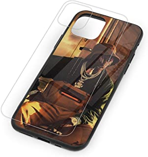 Lil Yachty Nuthin Tempered Glass Case for iPhone 11,iPhone 11 Pro and iPhone 11 Pro Max, 9H Glass Back Cover + TPU Soft Shell for iPhone 11 Series