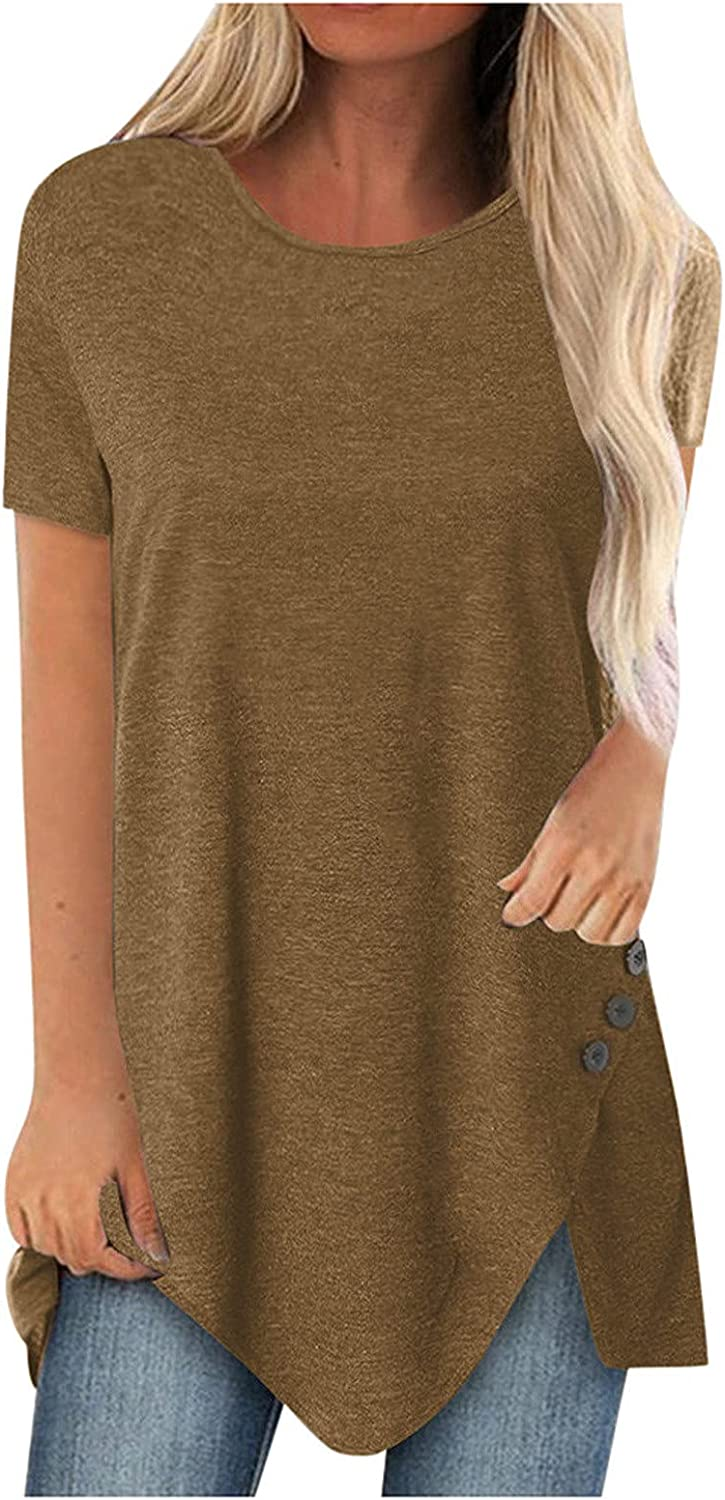 Plus Ranking integrated 1st place Size Tops Women Comfy Casual Raglan Same day shipping O-Neck Long Sho T-Shirt