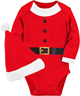 Unisex Baby Funny Onesie Short and Long Sleeve Bodysuits Outfits 0-12M