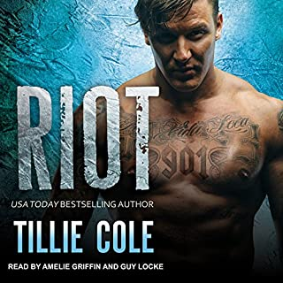 Riot     Scarred Souls Series, Book 4              By:                                                                                                                                 Tillie Cole                               Narrated by:                                                                                                                                 Amelie Griffin,                                                                                        Guy Locke                      Length: 11 hrs and 15 mins     208 ratings     Overall 4.7