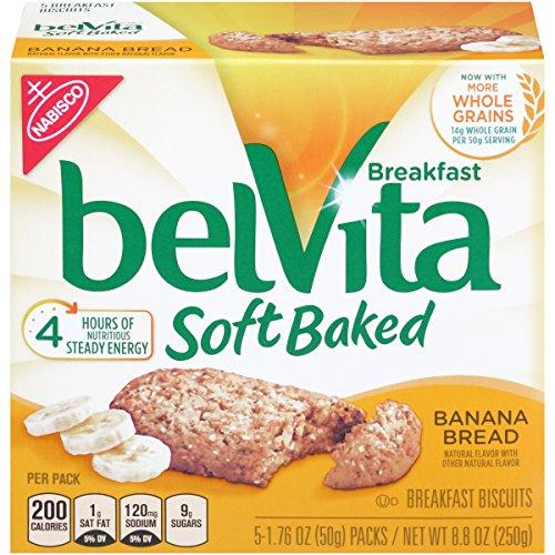 belVita Soft Baked Banana Breakfast Biscuits - 5ct