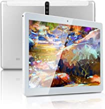 10 inch Android Tablet PC with Octa-Core CPU, 4GB RAM 64GB ROM IPS Touchscreen,5G-WiFi, Dual SIM Cards Slot Unlocked,Bluet...