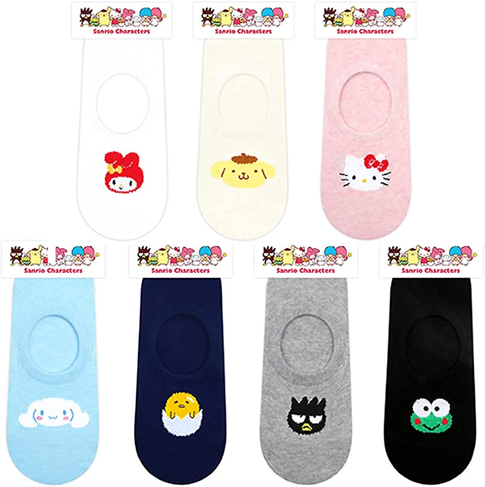 Hello Kitty Friends Characters Low Cut No Show Casual Liner Socks 1PC