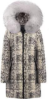 Howely Women Hood Padded Zip Up Parka Jacket Winter Jacket Coat