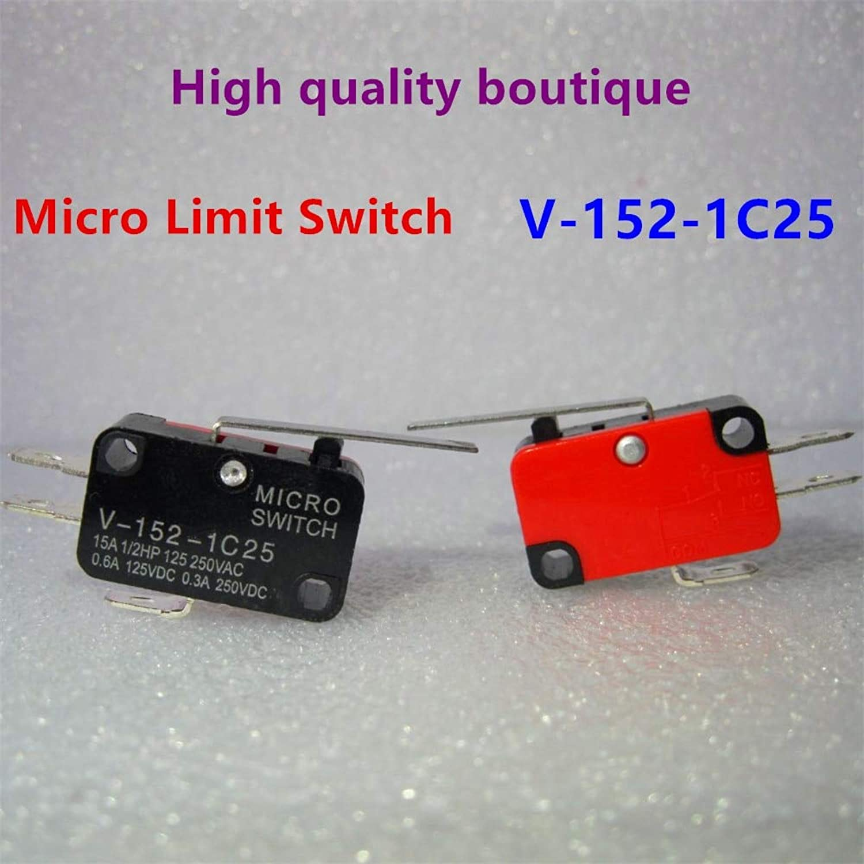 424e8095ee76 100Pcs High-Quality V-152-1C25 V-152-1C25 V-152-1C25 SPDT 1NO 1NC ...