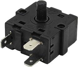 3 Conmutador De 3 Posiciones 12V SM SunniMix 2 SIN Interruptor Giratorio De Enganche Pl/ástico LA38-20XC