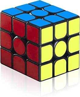 EnacFire スピードキューブ 磁石キューブ 回転スムーズ 立体パズル ポップ防止 3x3x3 競技専用 世界基準配色
