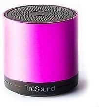 TruSound Audio T2, Wireless Bluetooth Portable Speaker/speakerphone 360 Degree Sound, Pink