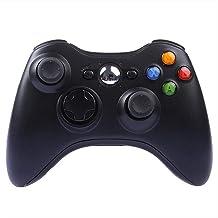 DJXLMN Gamepad Xbox 360 Bluetooth sans fil Télécommande pour Host Xbox 360, accessoires pour ordinateur, noir