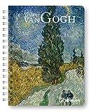 Agenda settimanale 2022 Vincent Van Gogh, 12 mesi, 15,6 x 21,6 cm, spiralata: Diary