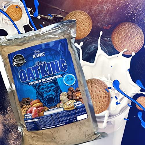 Harina de avena, Oatking, 1kg, OFERTA CUPON-5% !! Harina Integral, harina de sabor, ideal para tortitas, batidos, bizcochos y magdalenas, American Suplement, (GALLETA MARÍA)